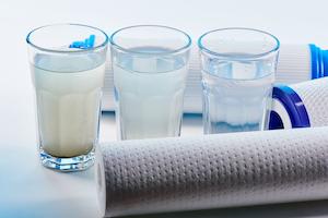 Carbonpatronen für gefiltertes Wasser